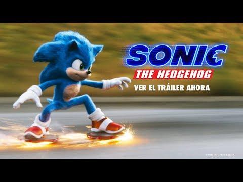 Sonic! Nuevo trailer con nuevo diseño!