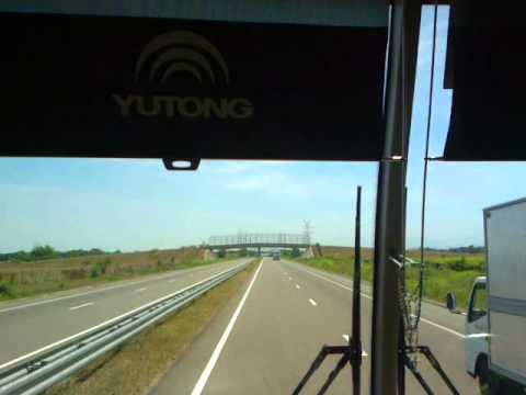 On Board Victory Liner 122 Yutong Deluxe SCTEX Run