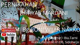 Download Mp3 Live Pernikahan Rr.tiyas Mardani & Bg.roni Wijar Narko//cs.sekar Buana//part