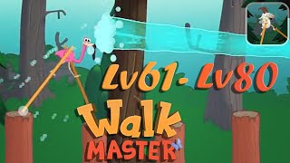Walk Master Walkthrough part 4 level 61-80