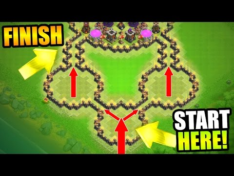 UNDEFEATED!! CAN IT BE BEATEN!?! - EPIC TROLL BASE GAME PLAY - Clash Of Clans