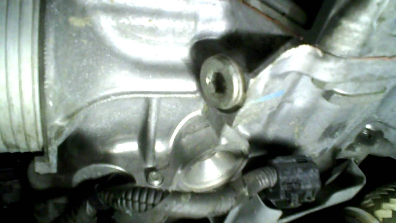 2012 Nissan Maxima >> Nissan Quest Transmission Plug - YouTube