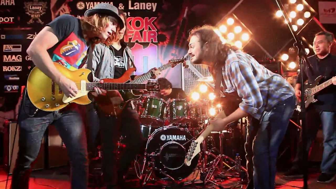 Download Little Wing, Smoke On The Water - Jack Thammarat Band with Joshua Ray and Alex Hutchings Jam