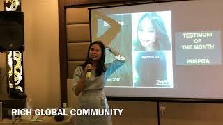 Testimoni Shampo 2 in 1 Longrich, Ms. Puspita di Medan