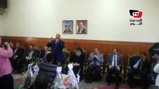 «طاهر» يعلن بدئ إنشاء المجلس الأعلى لمكافحة الإرهاب.. وقبطي: كلنا فدا مصر