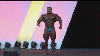 Arnold Classic 2016 Barcelona Pro Posing Round Roelly Winklaar