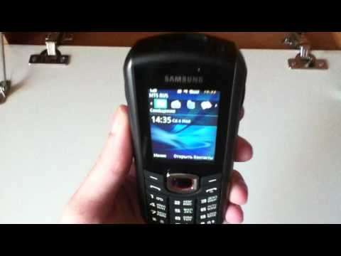 Samsung B2710. Экран