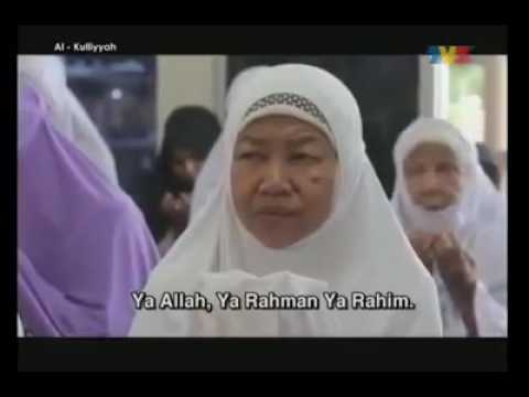 Doa Ibu Bapa yang menyentuh hati - Al-kuliyyah