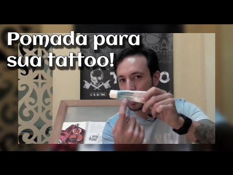 Pomada Para Sua Tatuagem