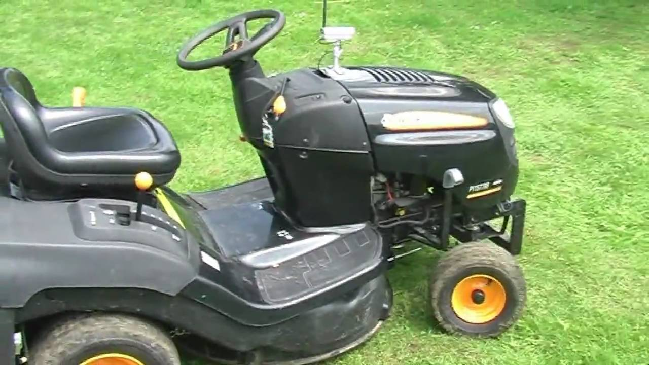 Home Made Wifi Remote Controlled Lawn Mower Youtube