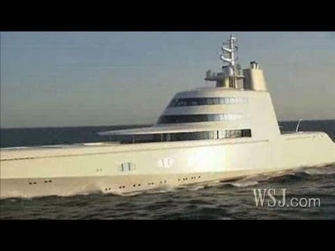 Inside a Russian Billionaire's $300 Million Yacht