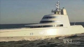 Inside a Russian Billionaire's $300 Million Yacht(Designed by Philippe Starck, the
