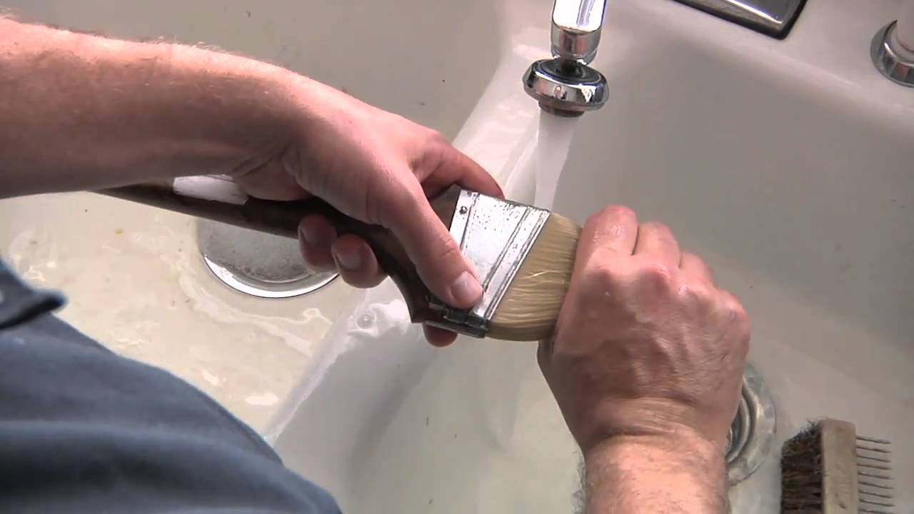 How to clean paintbrushes - How To Clean A Paint Brush