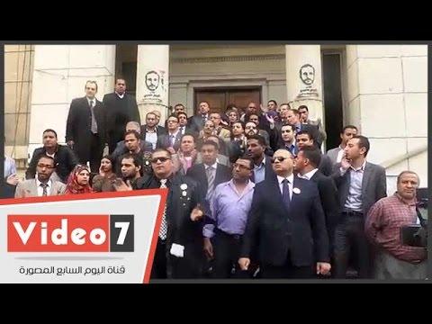اليوم السابع : وقفة احتجاجية للخاسرين فى انتخابات