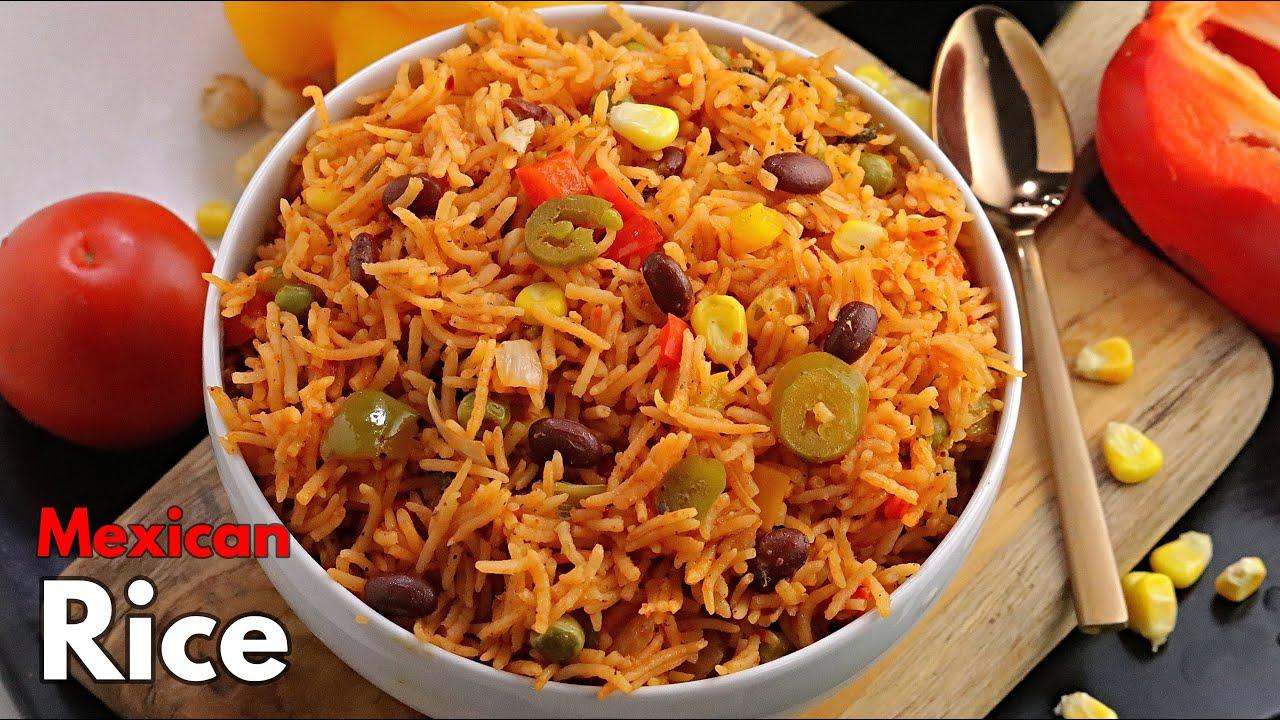 మెక్సికన్ రైస్ || Quick & Easy Mexican Rice recipe in Telugu || Simple One pot Recipe |@Vismai Food