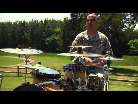 AMC Band Performs During SMA Dailey's Visit to Redstone Arsenal