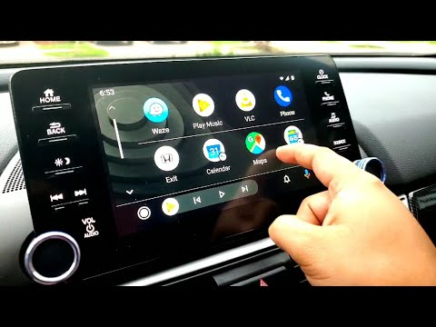 New Look Android Auto Update On Honda Accord 2018-2019