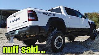 Holy Crap! The 2021 RAM TRX is CRAZY!
