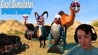 Goat Simulator Payday - !קונצים בעיר הגדולה