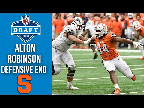 Alton Robinson | Seattle Seahawks | Defensive End | Syracuse | 2020 NFL Draft Profile