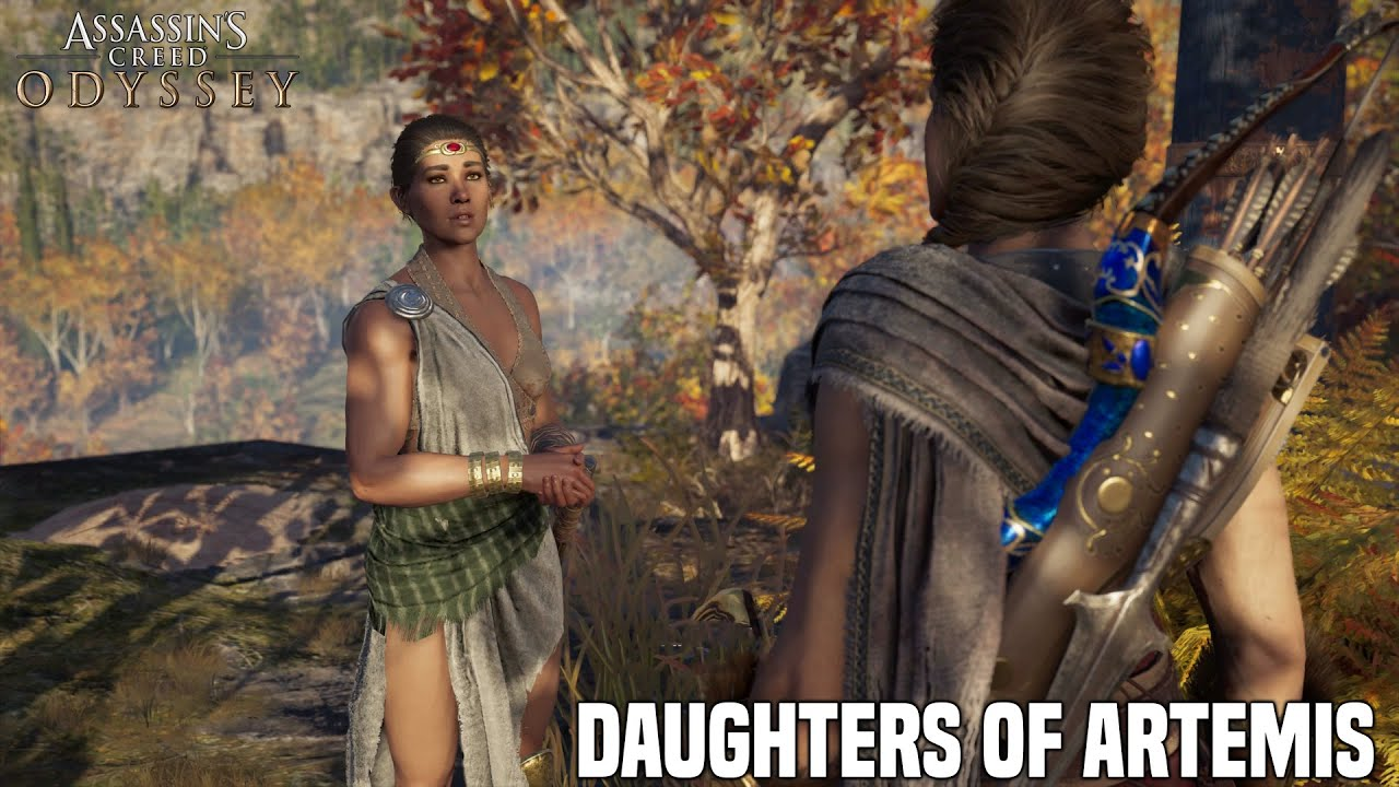 Assassins Creed Odyssey The Daughters Of Artemis Side Mission