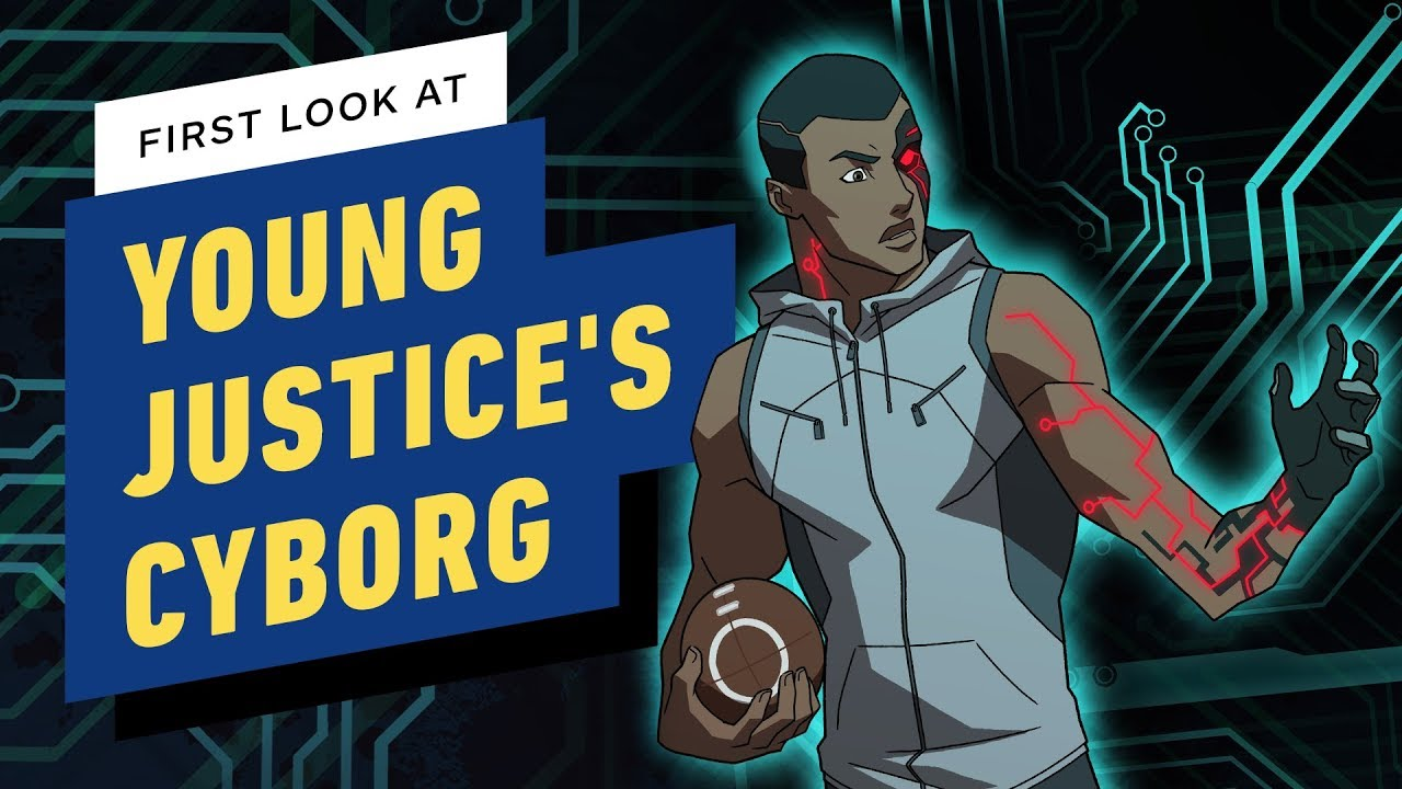 Young Justice: Outsiders Introduces Cyborg - Exclusive First Look - YouTube