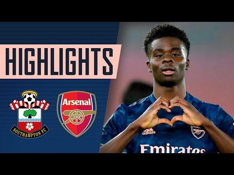HIGHLIGHTS | Southampton vs Arsenal (1-3) | Pepe, Saka & Lacazette fire us to victory