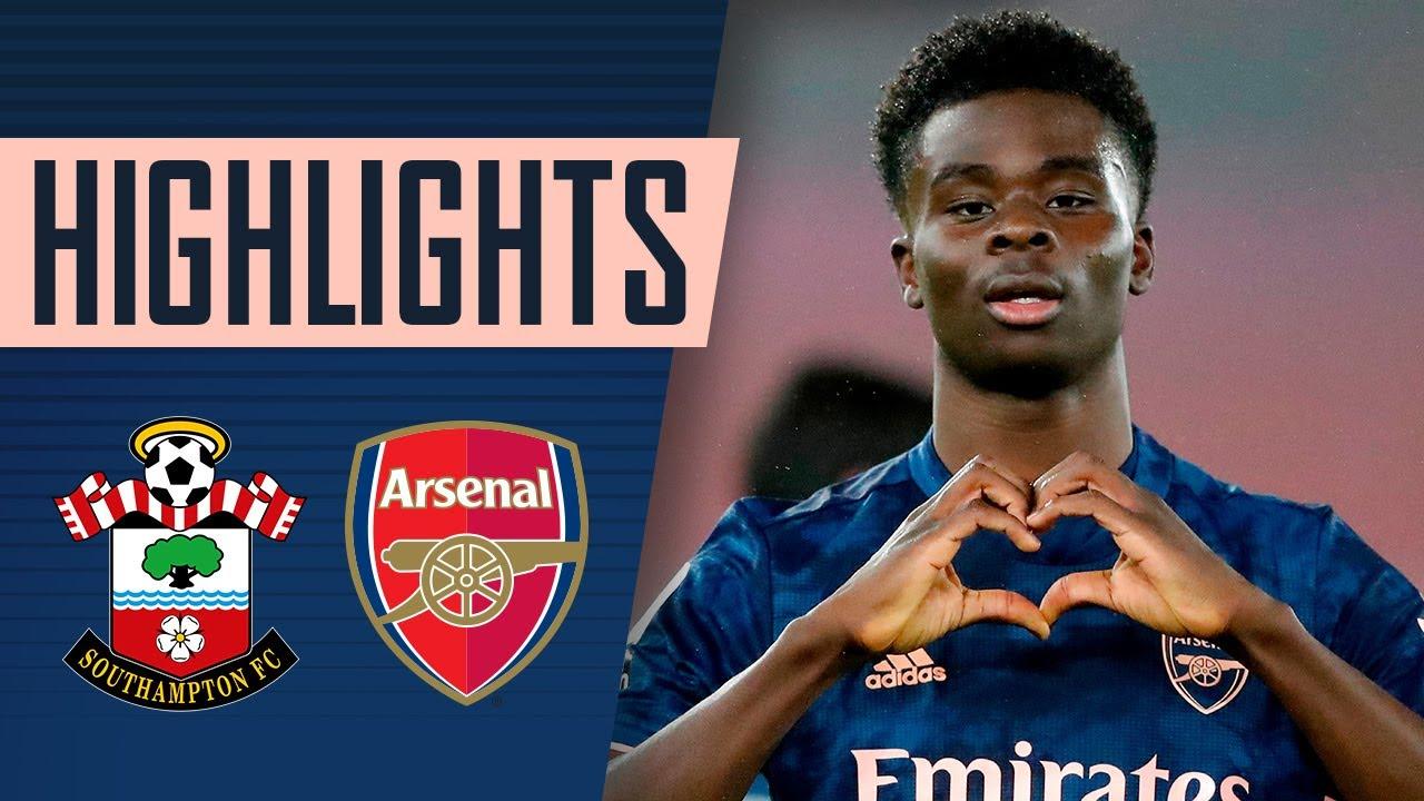 Download HIGHLIGHTS   Southampton vs Arsenal (1-3)   Pepe, Saka & Lacazette fire us to victory