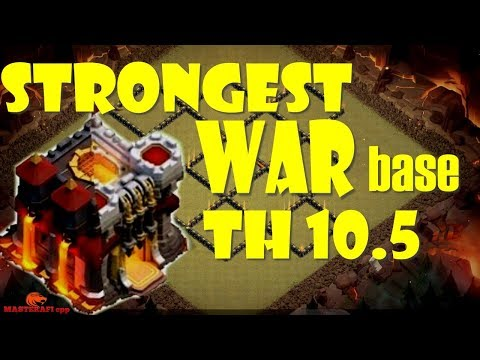 Clash Of Clans Ll Strong Base War Th 10.5/10.75 Ll Anti 3 Star Ll Replay Proof