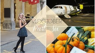A Day in London, Private Jets & Landing in Switzerland!  |  VLOGTOBER #6 | Fashion Mumblr