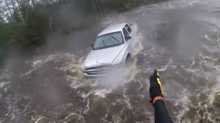 RAW:  Incredible video shows first person view of Hurricane Florence