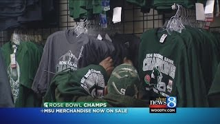 MSU headed home after Rose Bowl victory