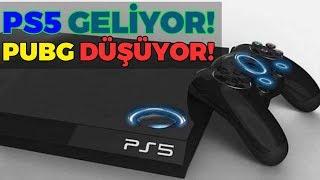 PLAYSTATION 5 GELİYOR. PUBG DÜŞÜYOR