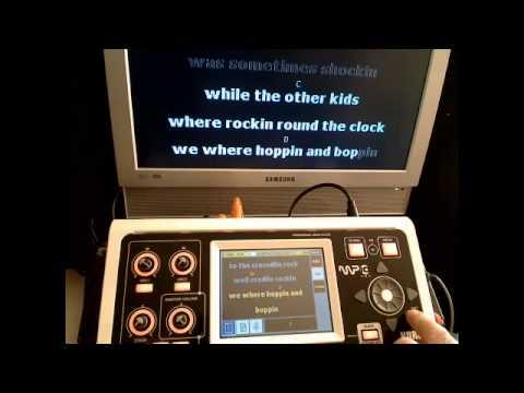 Korg MP10 Pro - Karaoke Lyrics and Song Titles