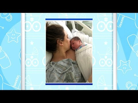Ginger Zee shares 1st photos of baby boy, Miles Macklin