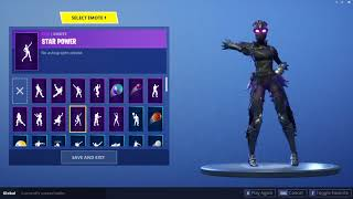 NEW *LEAKED* 'RAVAGE' SKIN | FEMALE RAVEN SKIN! | 'RAVAGE' WITH ALL EMOTES | FORTNITE