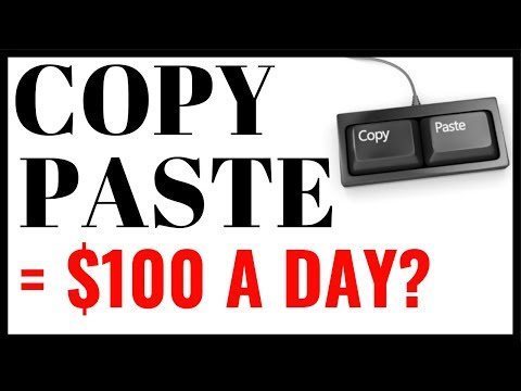 Copy And Paste Your Way To $100 A Day 🔥🔥🔥