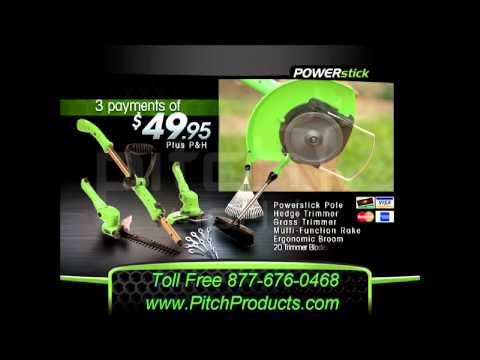 POWERstick Full 4-in-1 Cordless Lawn and Garden System