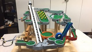 Mini Golf Marble Machine Build, Part 10 (Red and Yellow)