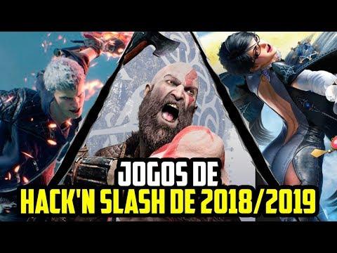5 GAMES DE HACK 'N' SLASH QUE VOCÊ PRECISA JOGAR EM 2018/2019!