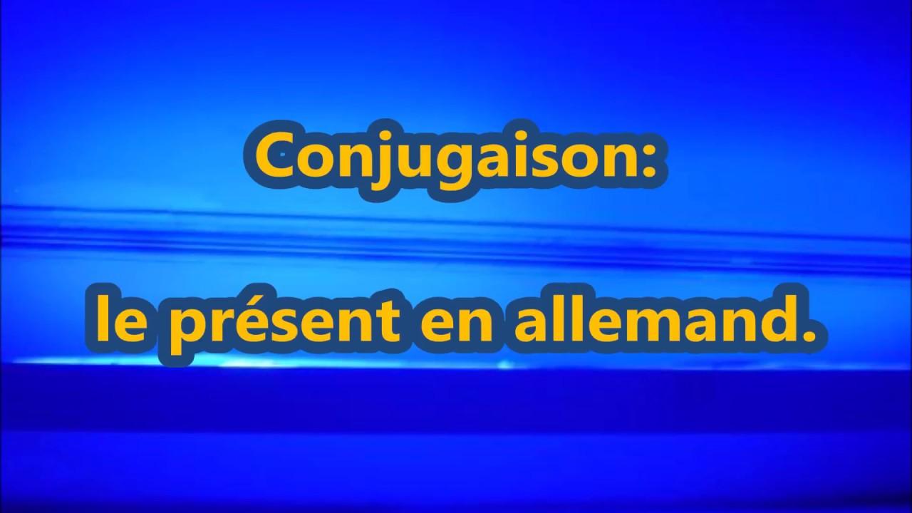 foto de Conjugaison: le présent en allemand YouTube