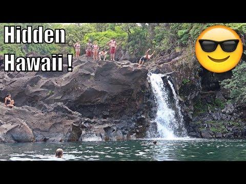 Finding SECRET Waterfalls in Hilo, Hawaii 🌴