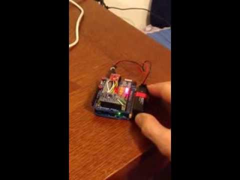 Arduino with Magnetometer