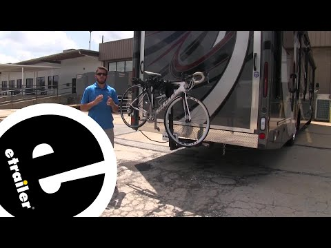 etrailer | Thule Hitching Post Pro Hitch Bike Racks Review - 2020 thor outlaw motorhome