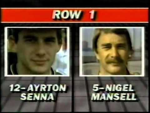 F1   USA GP 1985   Race   Part 1
