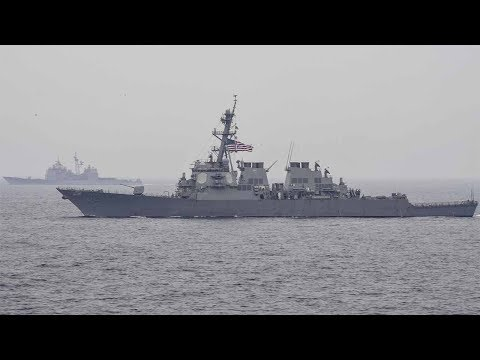 Crew feared missing after US destroyer, ship collide off Japan's coast