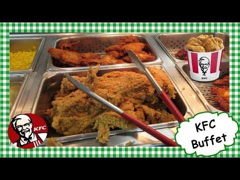 All You Can Eat KFC Buffet ~ Kentucky Fried Chicken Dinner