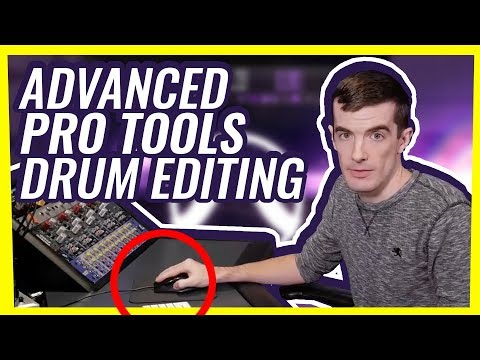How to edit drums in Pro Tools: Advanced Tutorial