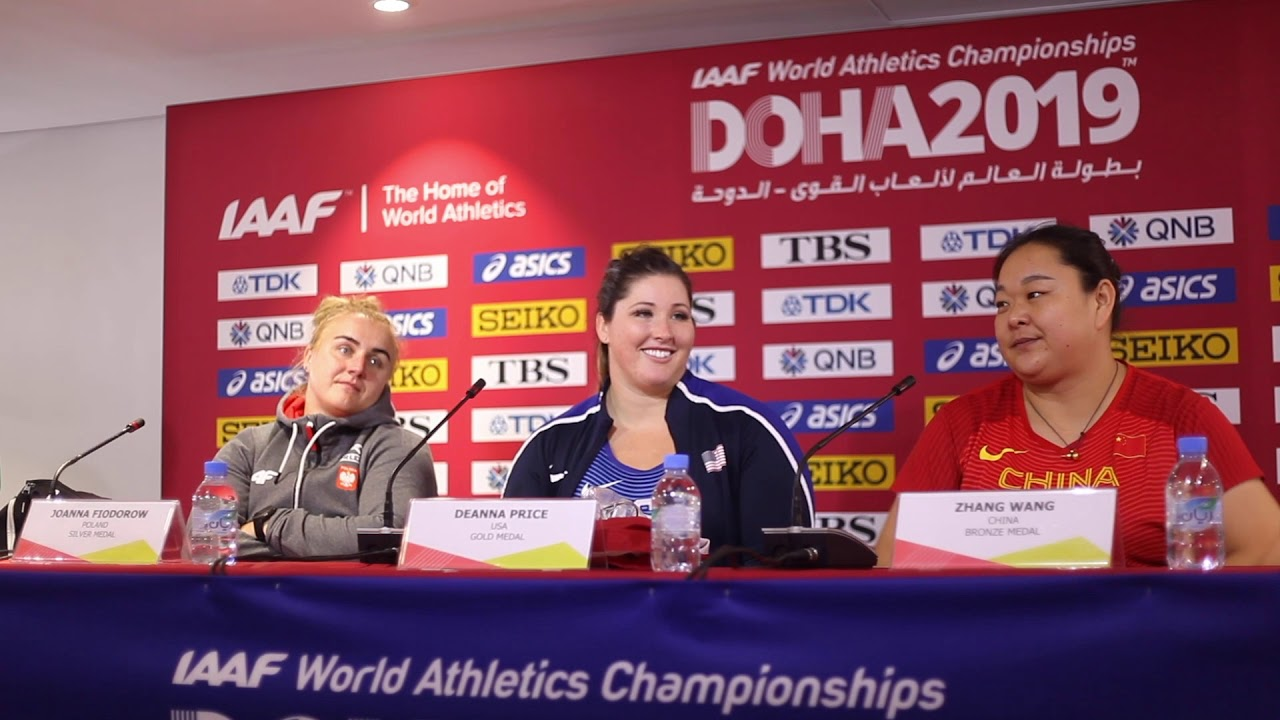 Doha WC 2019 - Women's Hammer Throw Press Conference