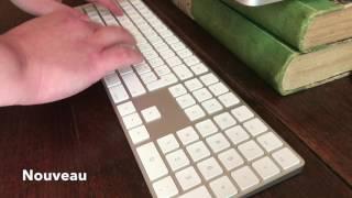 Magic Keyboard vs clavier filaire: le son des touches